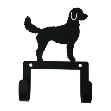 Wrought Iron Doodle Dog Leash & Collar Wall Hook dog hook dog key rack dog leash hook key rack new