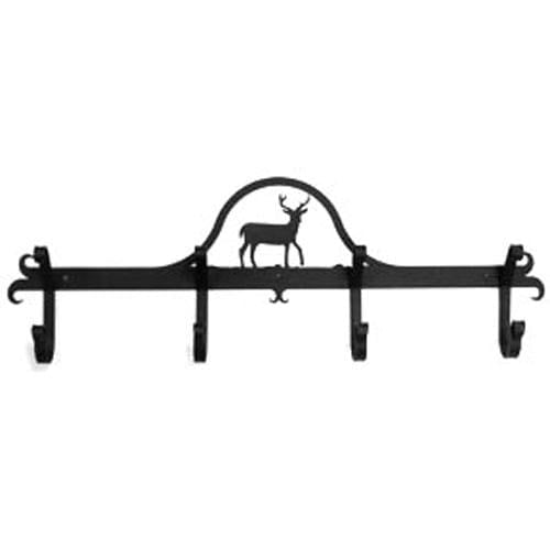 Wrought Iron Hat & Coat Rack Towel Rack Deer coat rack coat rail garment rack hat rack towel rack