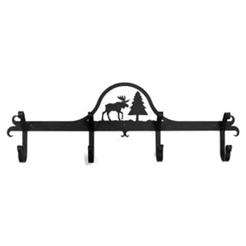 Wrought Iron Hat & Coat Rack Towel Rack Moose coat rack coat rail garment rack hat rack towel rack