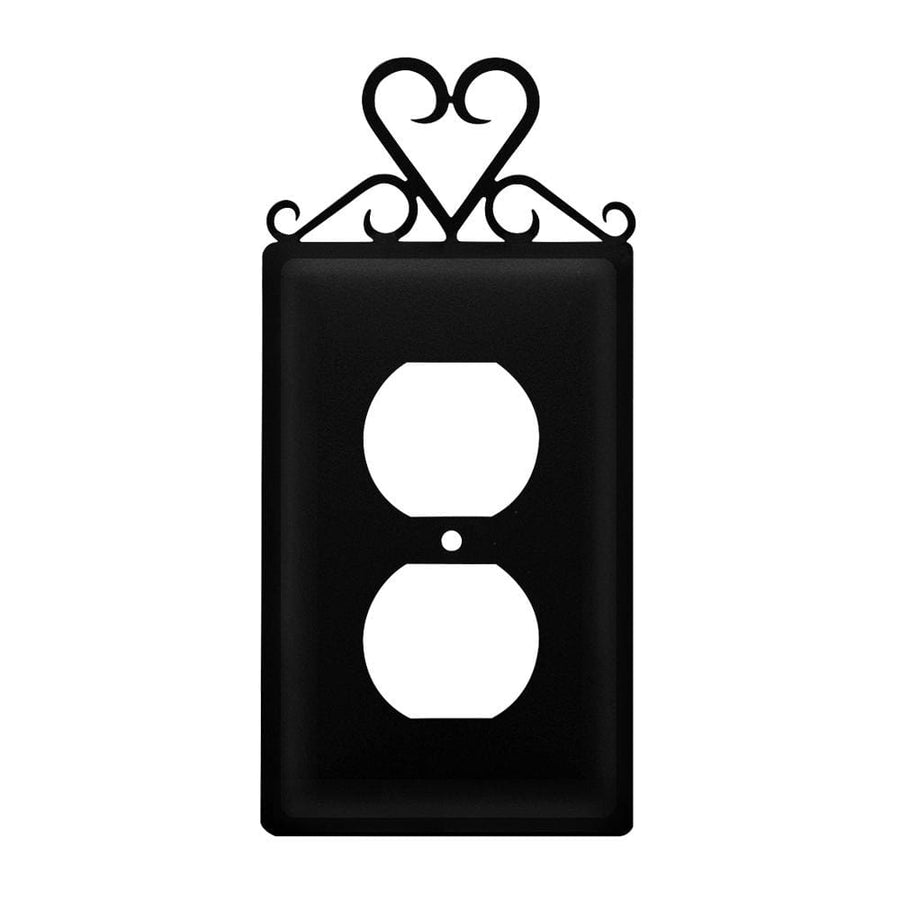 Wrought Iron Heart Outlet Cover light switch covers lightswitch covers outlet cover switch covers
