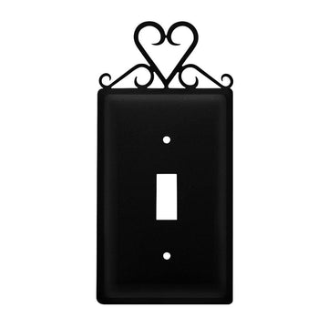Wrought Iron Heart Switch Cover light switch covers lightswitch covers outlet cover switch covers