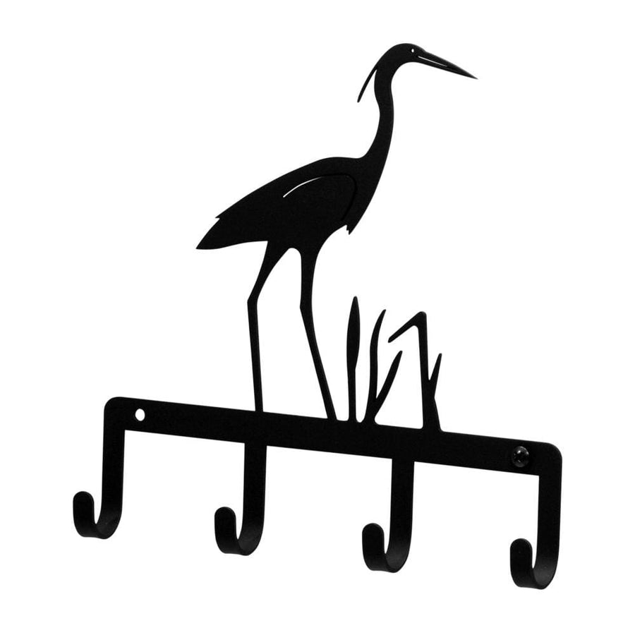 Wrought Iron Heron Key Holder Key Hooks key hanger key hooks Key Organizers key rack