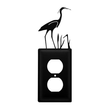 Wrought Iron Heron Outlet Cover light switch covers lightswitch covers outlet cover switch covers