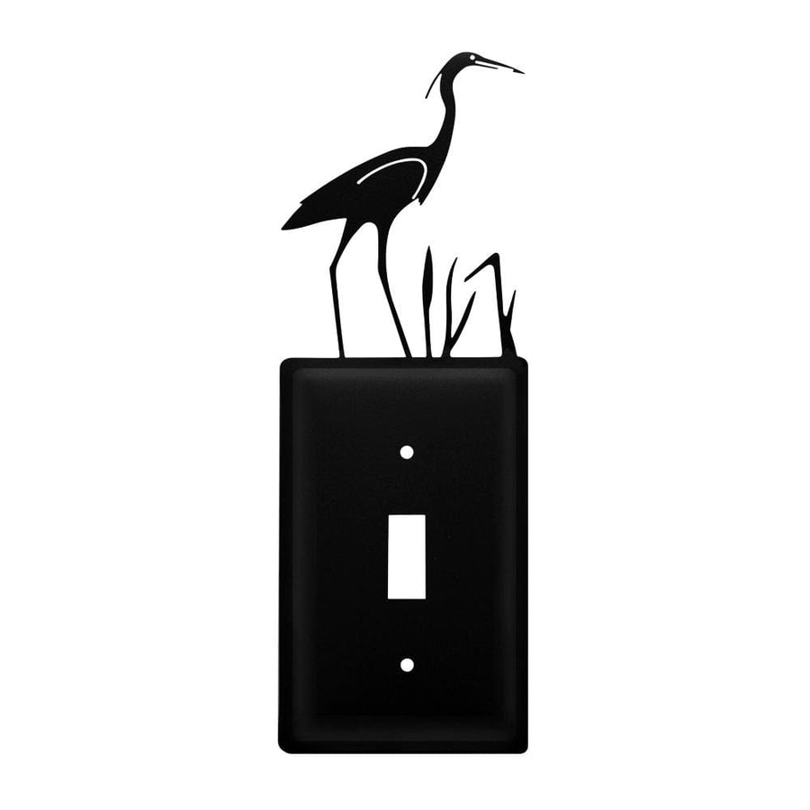 Wrought Iron Heron Switch Cover light switch covers lightswitch covers outlet cover switch covers
