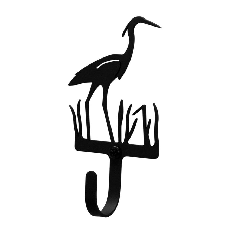 Wrought Iron Heron Wall Hook Decorative Small coat hooks door hooks heron hook Heron Wall Hook hook