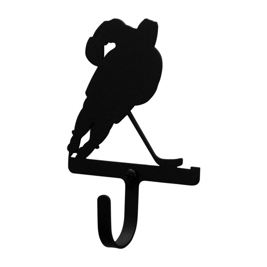 Wrought Iron Hockey Player Wall Hook Decorative Small coat hooks door hooks hockey hook Hockey