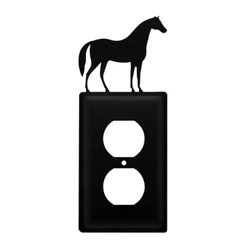 Wrought Iron Horse Outlet Cover light switch covers lightswitch covers outlet cover switch covers