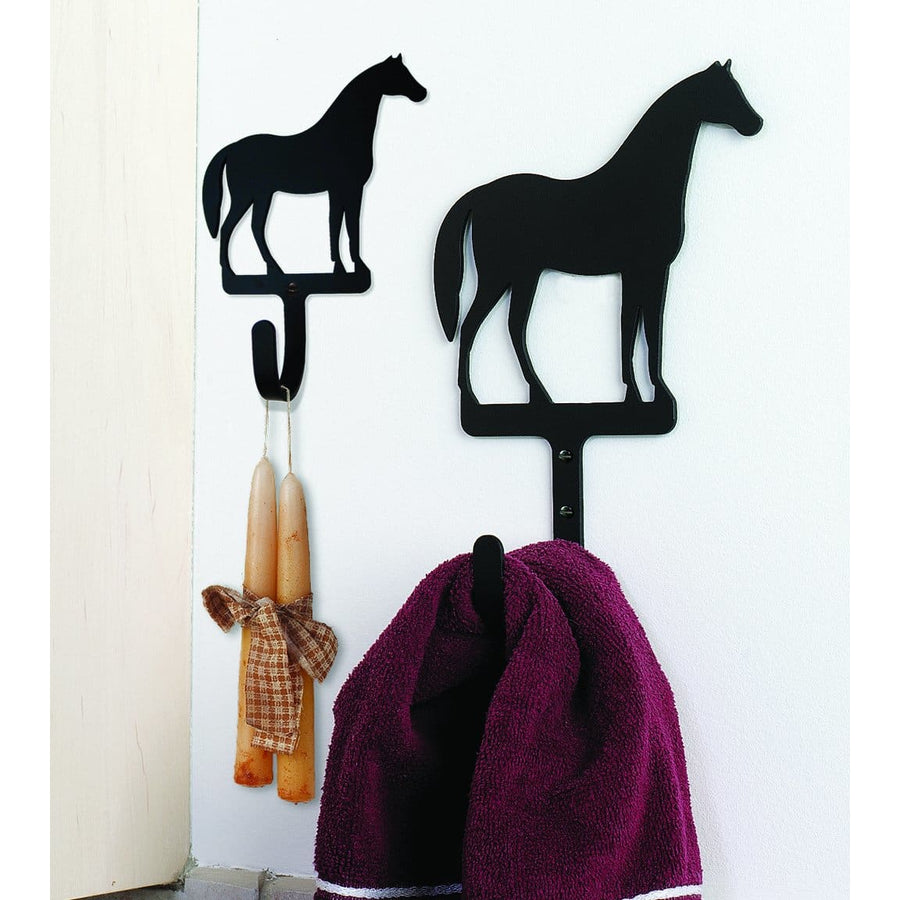 Wrought Iron Horse Wall Hook Decorative Large coat hooks door hooks hook horse hook Horse Wall Hook