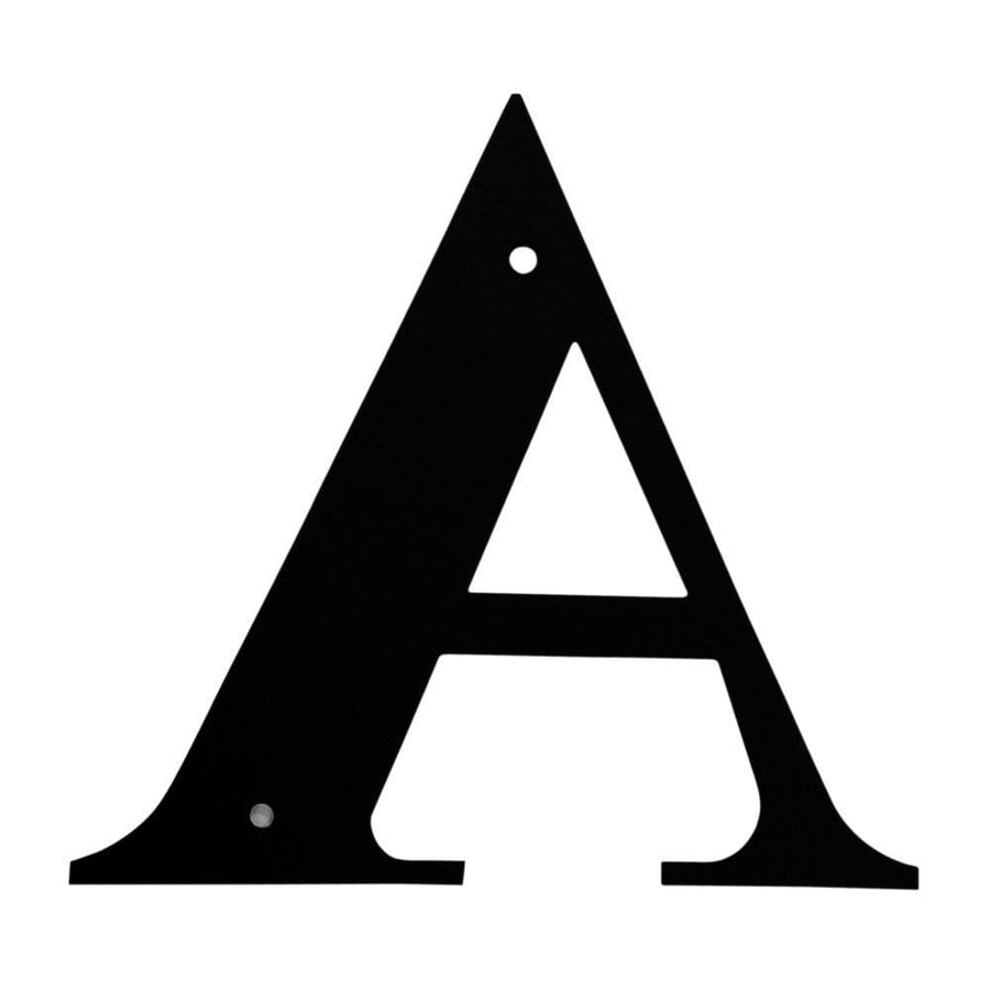 Wrought Iron House Letter A - 3 Sizes Available address letter featured house letter house signs