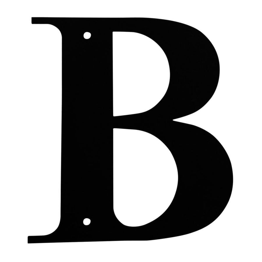 Wrought Iron House Letter B - 3 Sizes Available address letter featured house letter house signs