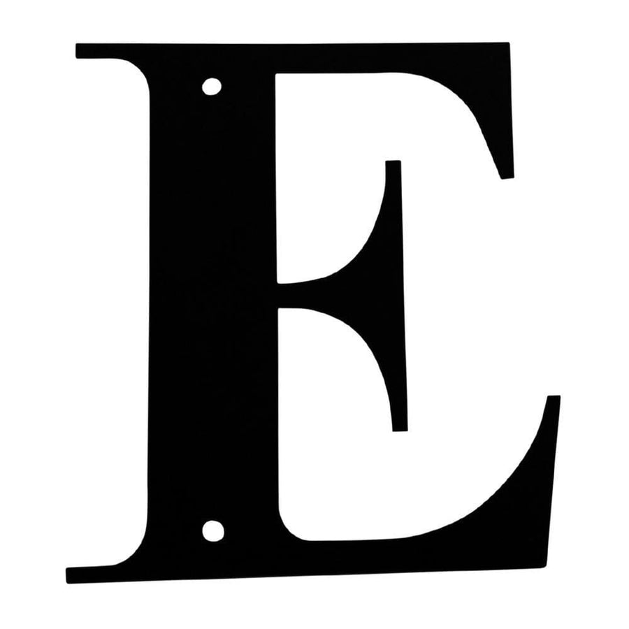 Wrought Iron House Letter E - 3 Sizes Available address letter house letter house signs letter e