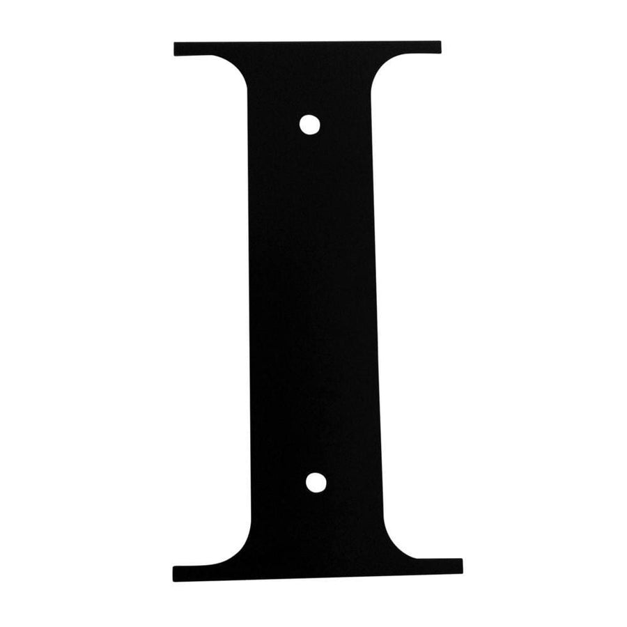 Wrought Iron House Letter I - 3 Sizes Available address letter house letter house signs letter i
