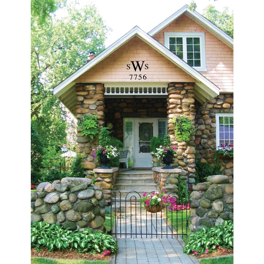 Wrought Iron House Letter W - 3 Sizes Available address letter house letter house signs letter w