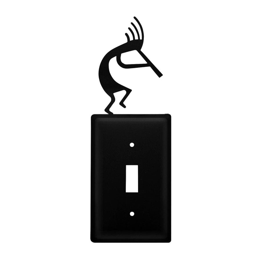Wrought Iron Kokopelli Switch Cover light switch covers lightswitch covers outlet cover switch