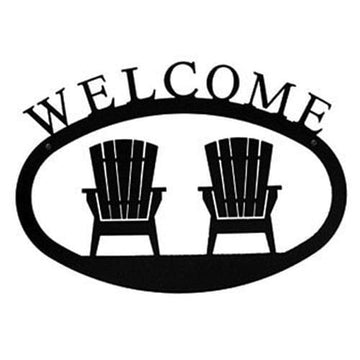 Wrought Iron Large Chairs Welcome Home Sign Large door signs featured outdoor signs welcome home