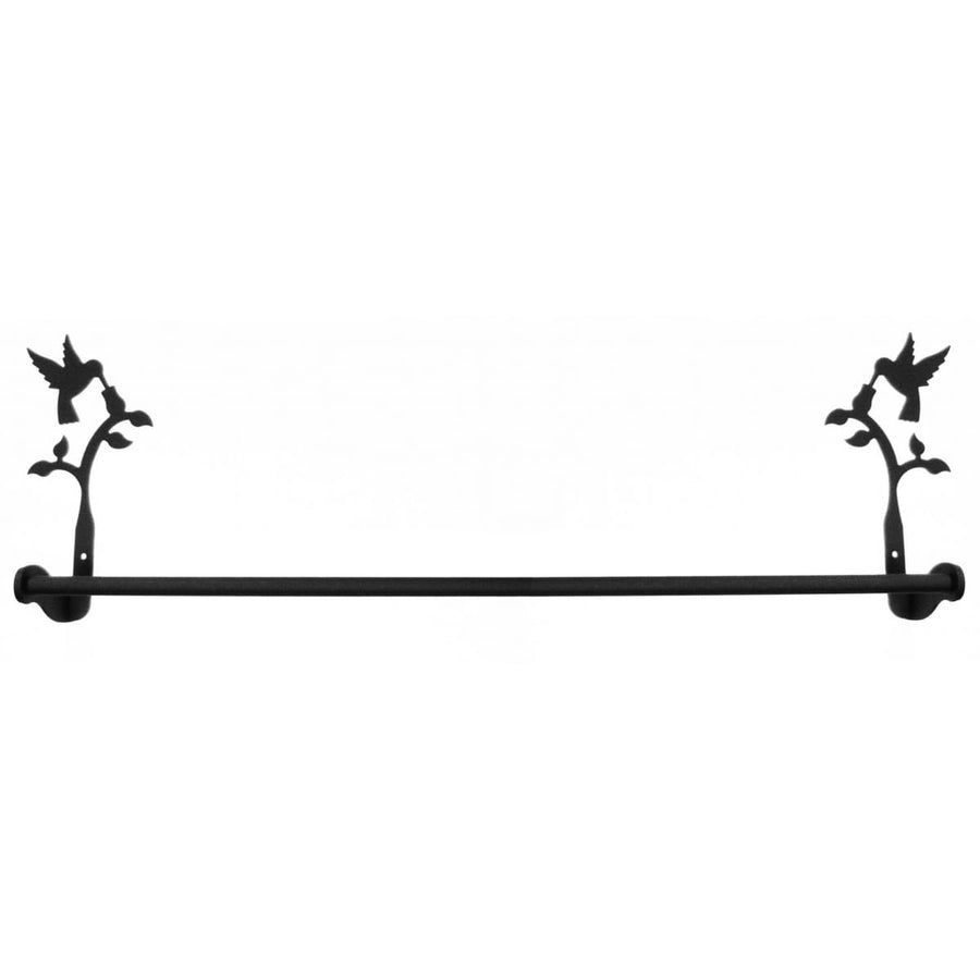Wrought Iron Large Hummingbird Towel Rail Towel Rack new towel rack Wrought Iron Large Hummingbird