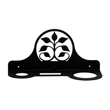 Wrought Iron Leaf Fan Hair Dryer Holder Rack dryer rack hair dryer hair dryer holder hair dryer rack