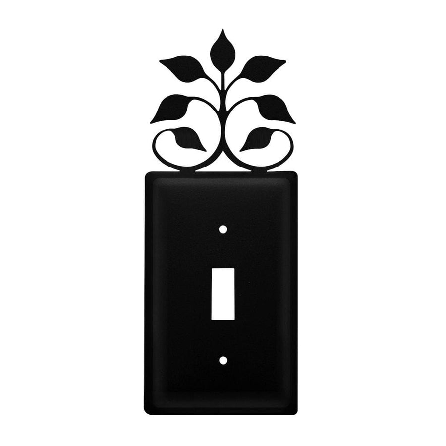 Wrought Iron Leaf Fan Switch Cover light switch covers lightswitch covers outlet cover switch covers