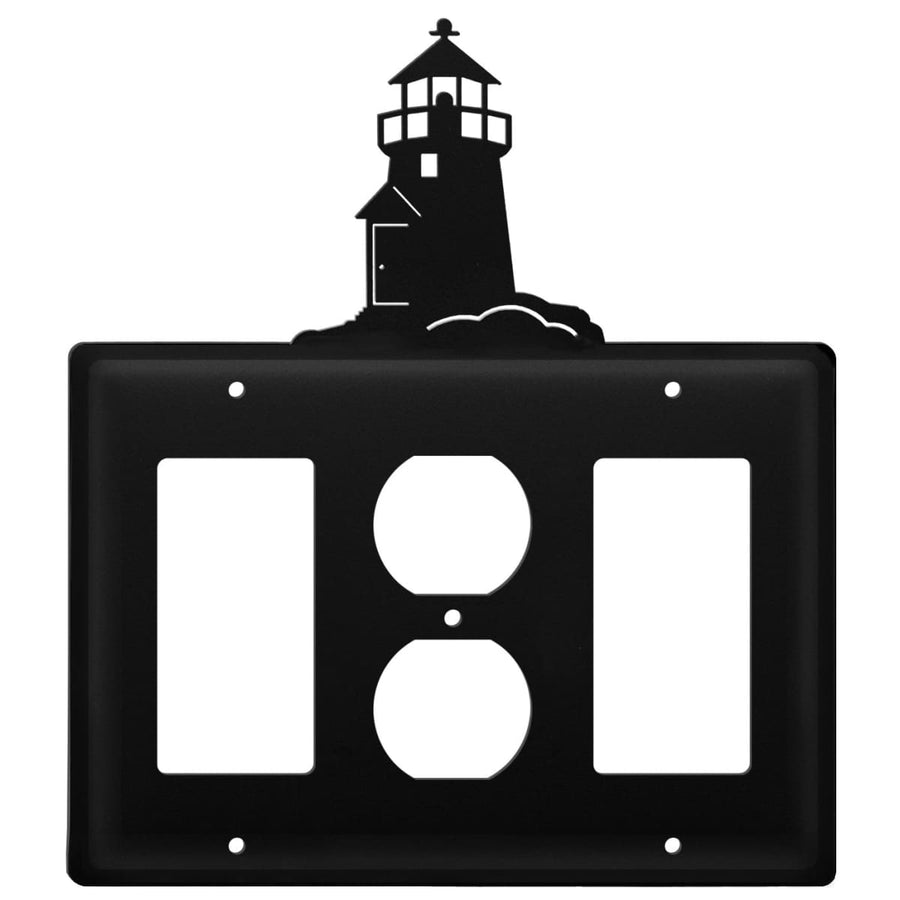 Wrought Iron Lighthouse GFCI Outlet GFCI Cover light switch covers lightswitch covers outlet cover