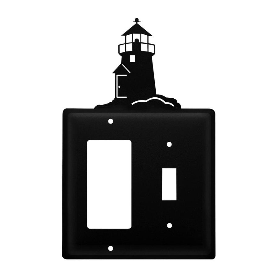 Wrought Iron Lighthouse GFCI Switch Cover light switch covers lightswitch covers outlet cover switch