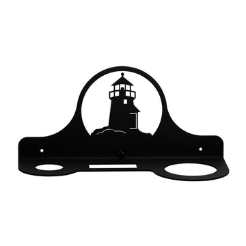 Wrought Iron Lighthouse Hair Dryer Holder Rack dryer rack hair dryer hair dryer holder hair dryer