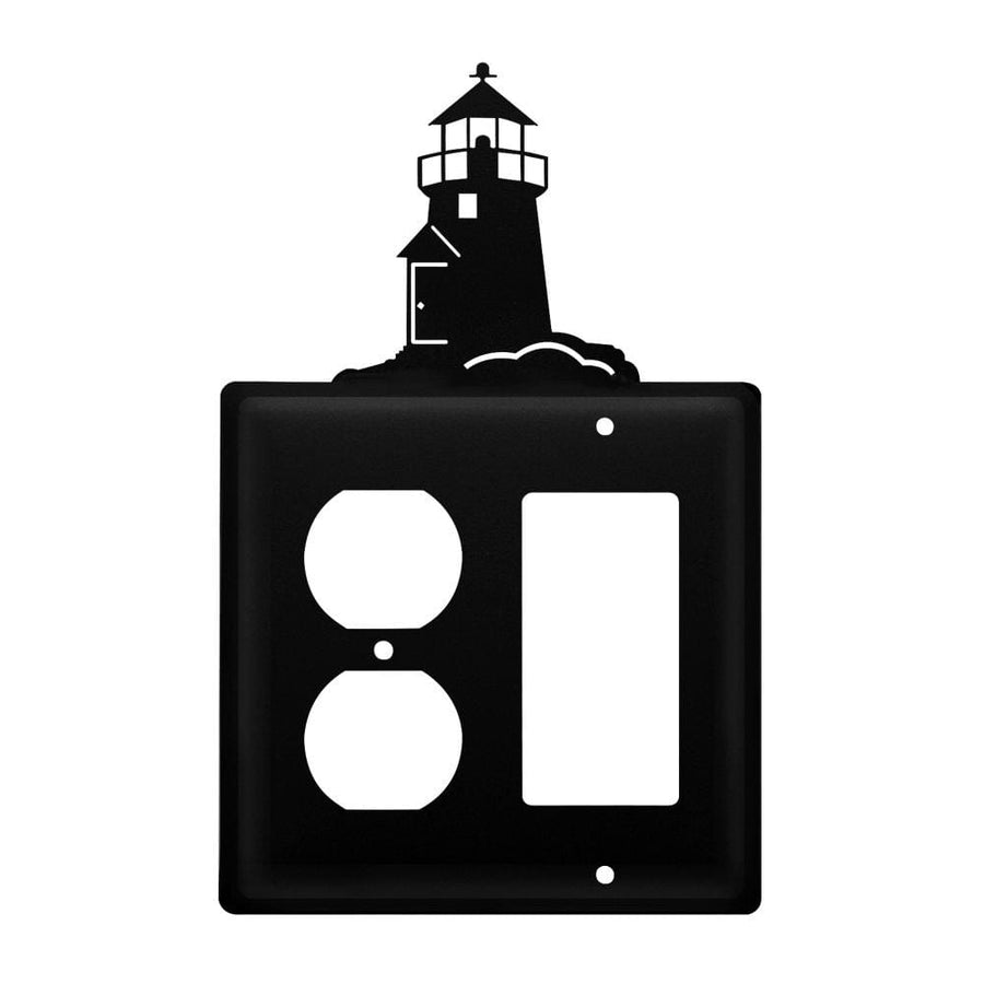 Wrought Iron Lighthouse Outlet Cover & GFCI light switch covers lightswitch covers outlet cover