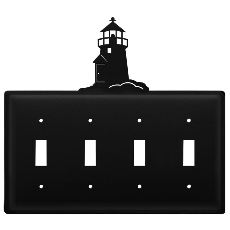 Wrought Iron Lighthouse Quad Switch Cover light switch covers lightswitch covers outlet cover switch