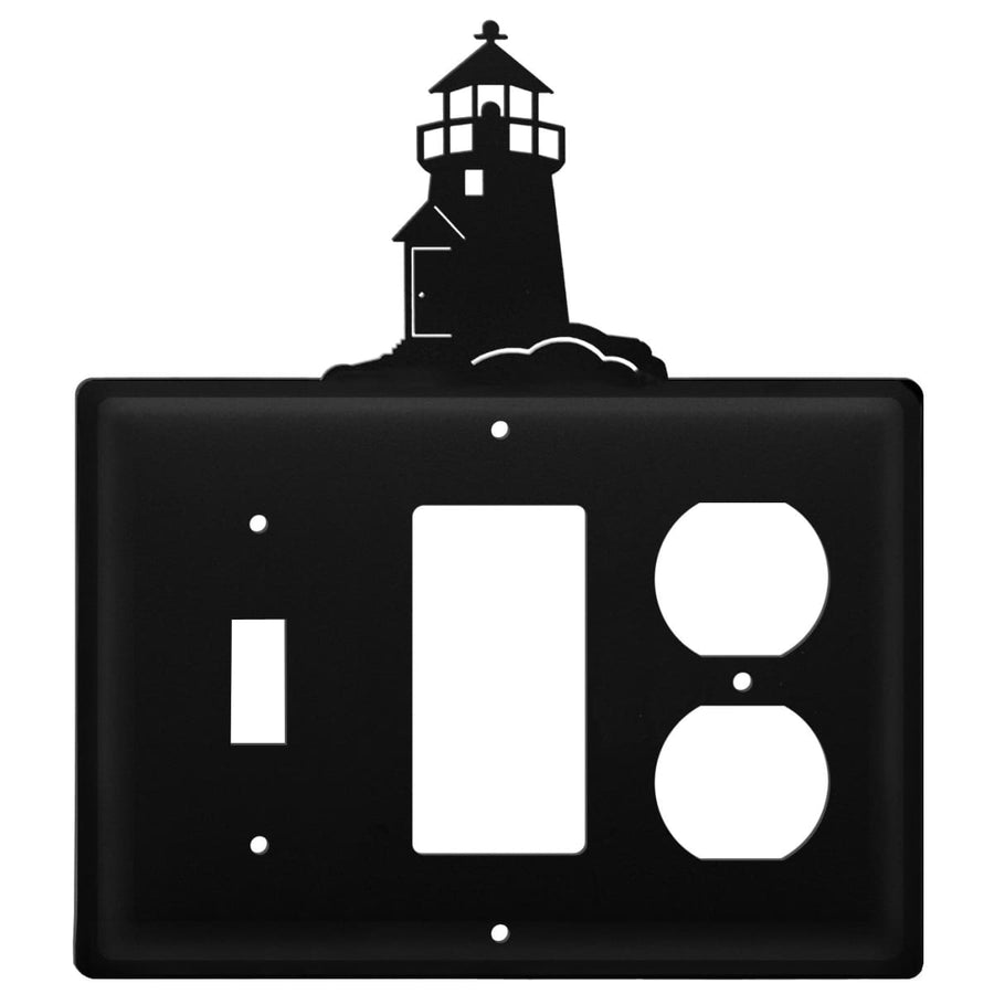 Wrought Iron Lighthouse Switch GFCI Outlet Cover light switch covers lightswitch covers outlet cover