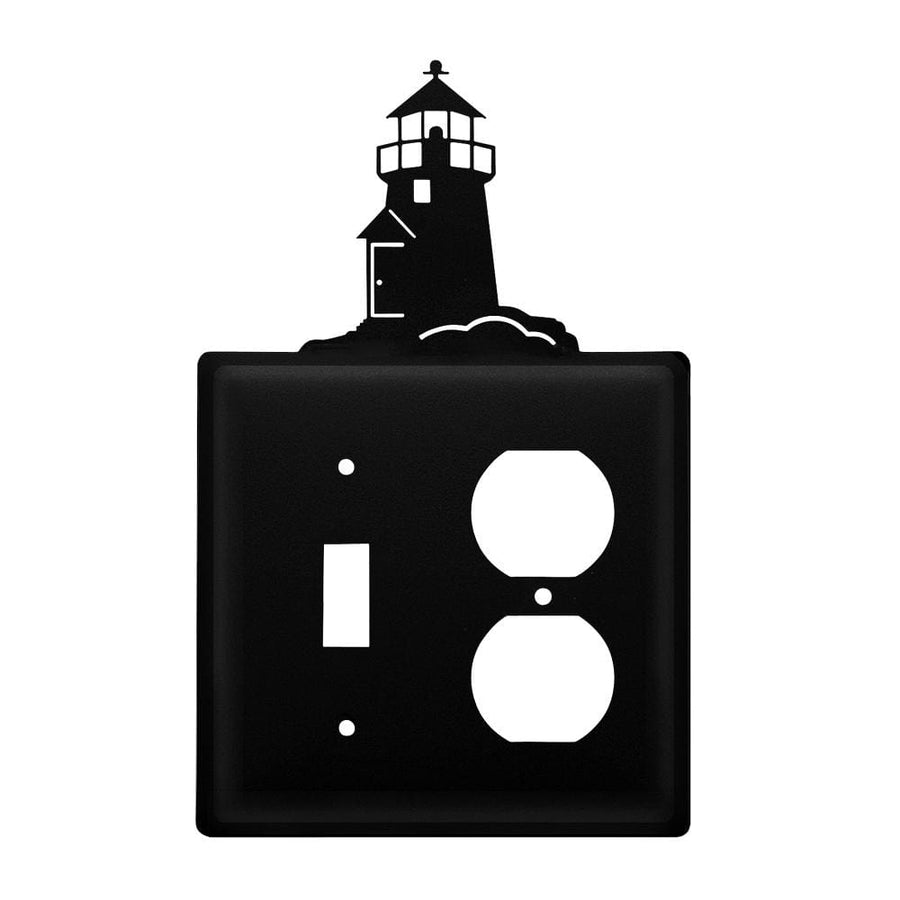 Wrought Iron Lighthouse Switch & Outlet Cover new outlet cover Wrought Iron Lighthouse Switch &