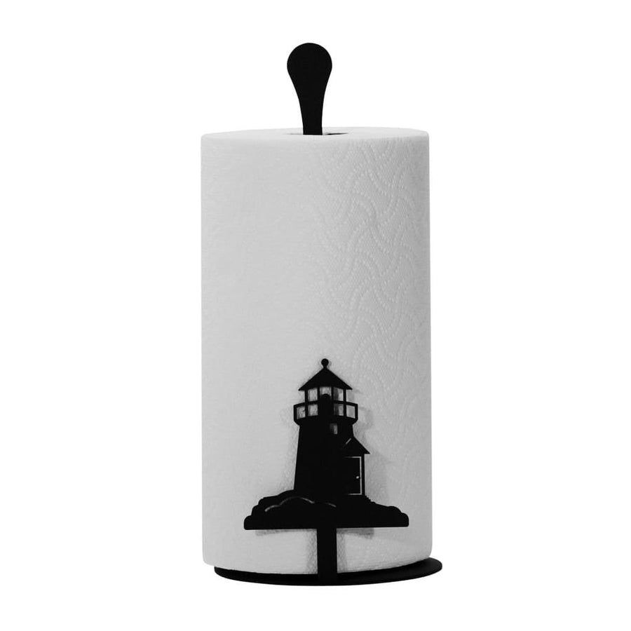 Wrought Iron Lighthouse Table Top Paper Towel Stand kitchen towel holder paper towel dispenser paper