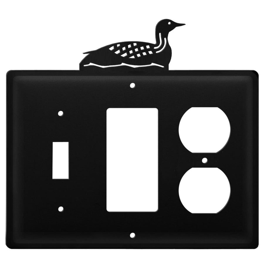 Wrought Iron Loon Switch GFCI Outlet Cover light switch covers lightswitch covers outlet cover
