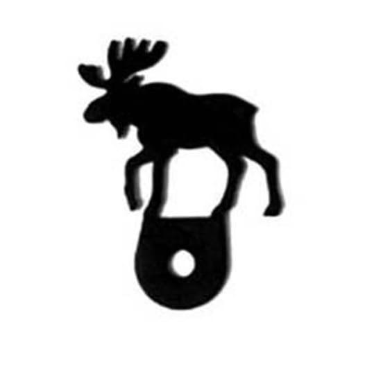 Wrought Iron Moose Cabinet Door Silhouette black door silhouettes door silhouette kitchen door