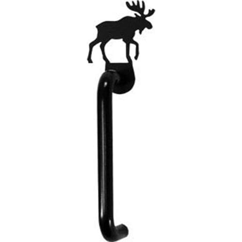 Wrought Iron Moose Cabinet Vertical Door Handle black door handles door handle kitchen door handles