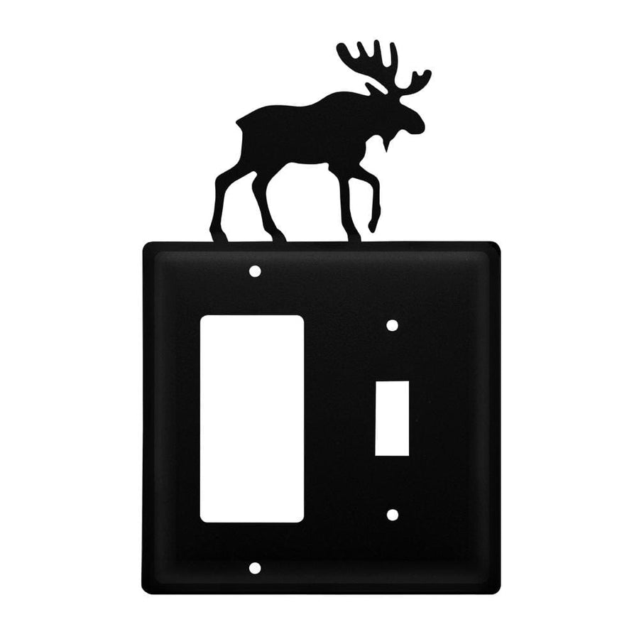Wrought Iron Moose GFCI Switch Cover light switch covers lightswitch covers outlet cover switch