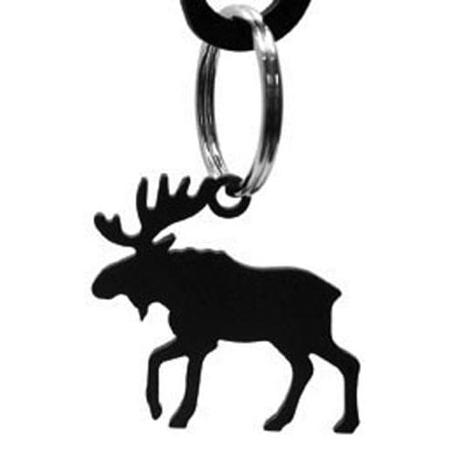 Wrought Iron Moose Keychain Key Ring key chain key pendant key ring keychain keyrings