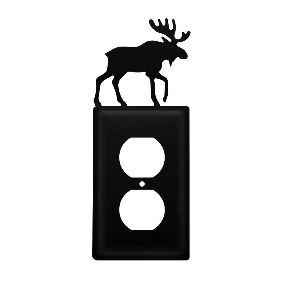 Wrought Iron Moose Outlet Cover light switch covers lightswitch covers outlet cover switch covers