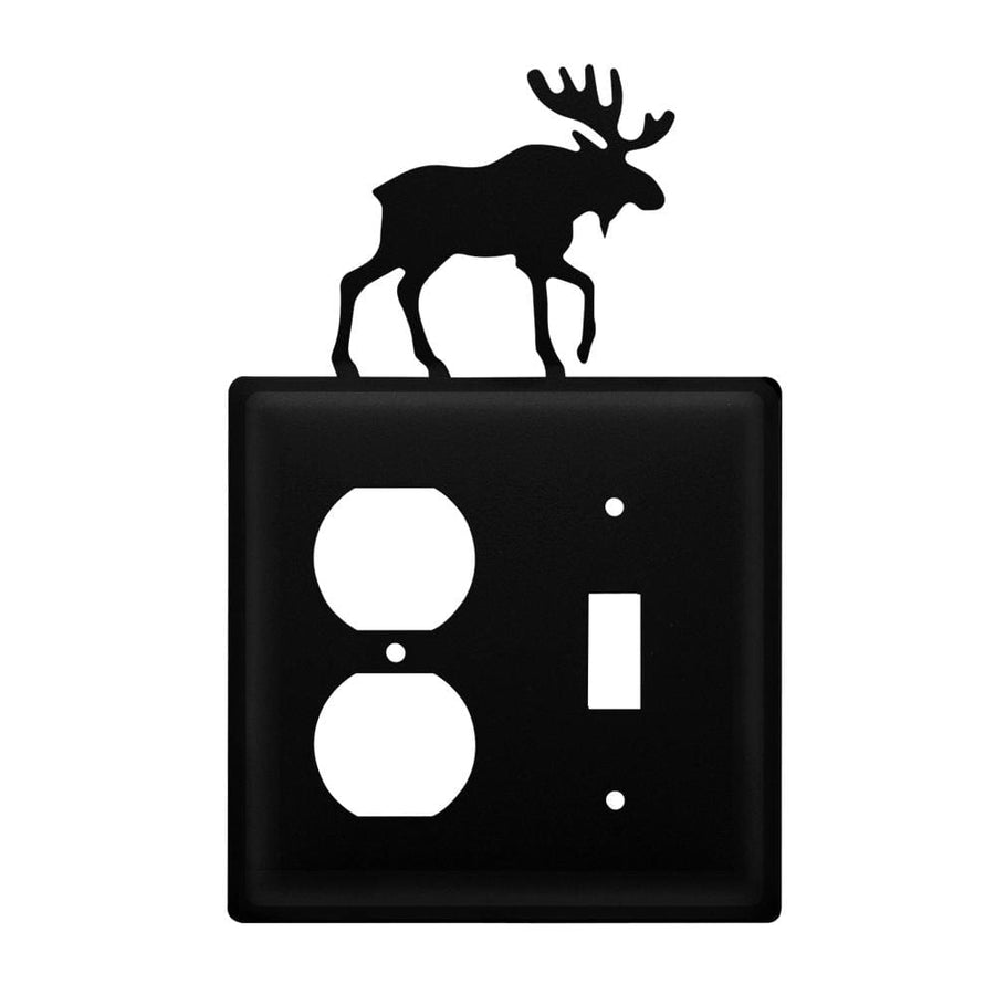Wrought Iron Moose Outlet & Switch Cover light switch covers lightswitch covers outlet cover switch