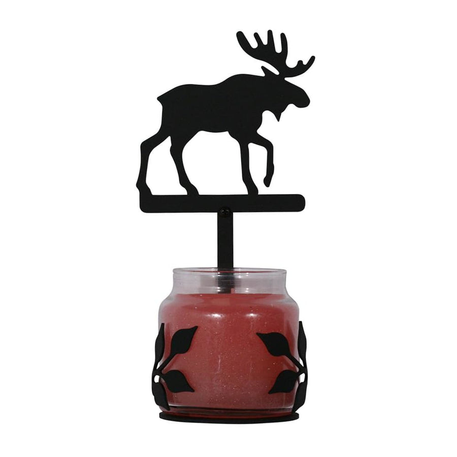 Wrought Iron Moose Sconce - Candle Holder candle holder candle sconce candle wall sconce sconce wall