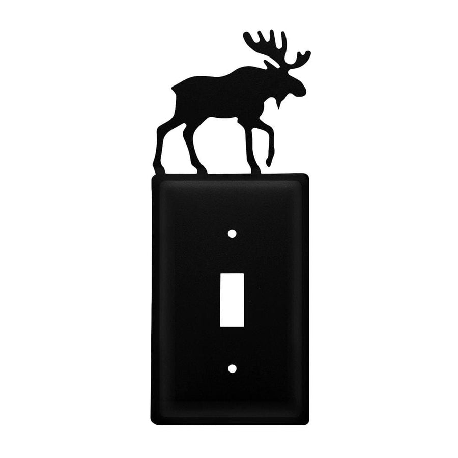 Wrought Iron Moose Switch Cover light switch covers lightswitch covers outlet cover switch covers