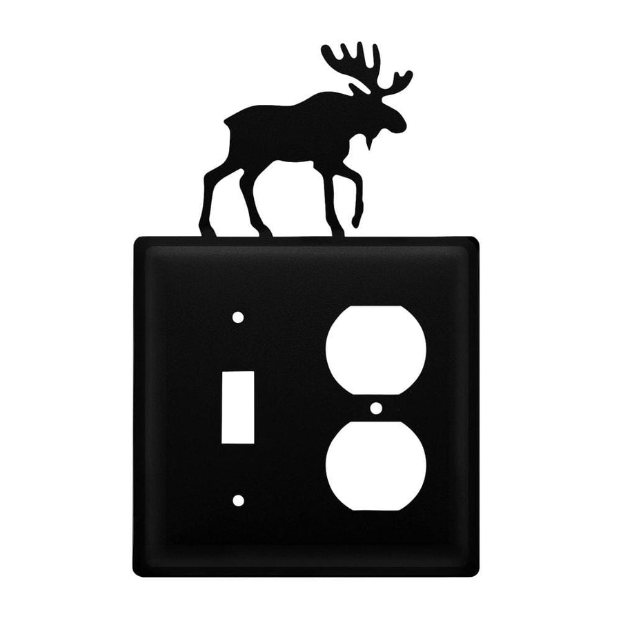Wrought Iron Moose Switch Outlet Cover light switch covers lightswitch covers outlet cover switch