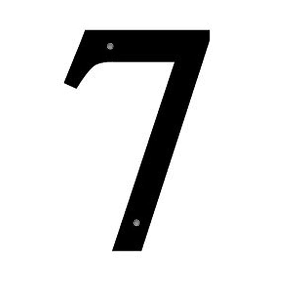 Wrought Iron Number 7 Medium 12 Inches door numbers house number house numbers number 7 number seven