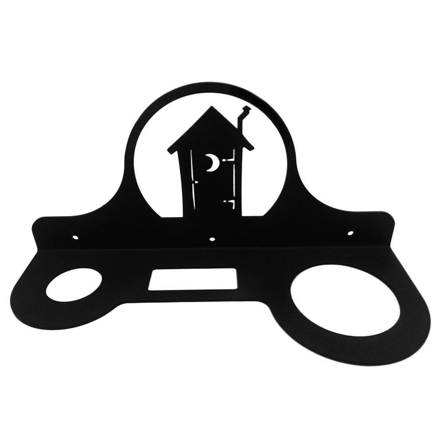 Wrought Iron Outhouse Hair Dryer Holder Rack hair dryer holder new Wrought Iron Outhouse Hair Dryer