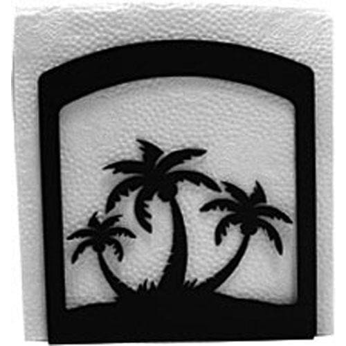 Wrought Iron Palm Trees Napkin Holder cocktail napkin holder napkin holder serviette dispenser