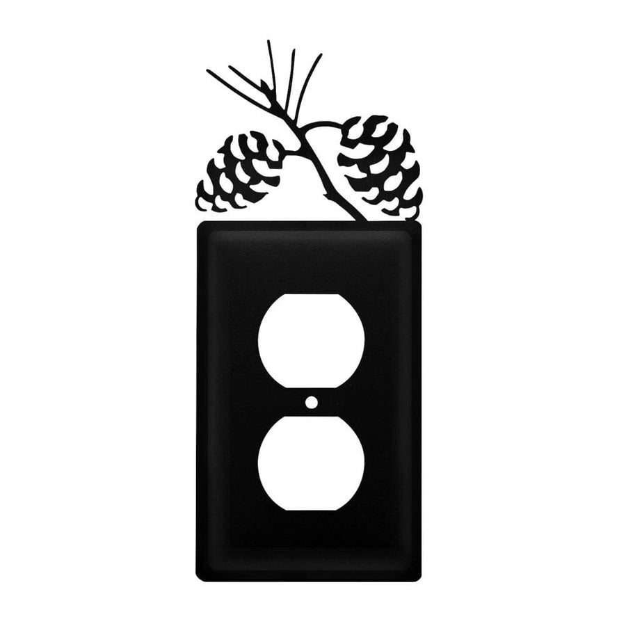 Wrought Iron Pine Cone Outlet Cover featured light switch covers lightswitch covers outlet cover
