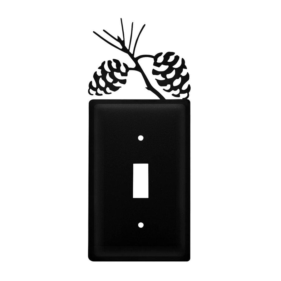 Wrought Iron Pine Cone Switch Cover light switch covers lightswitch covers outlet cover switch