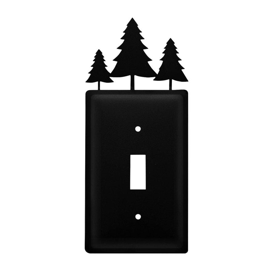 Wrought Iron Pine Trees Switch Cover light switch covers lightswitch covers outlet cover switch