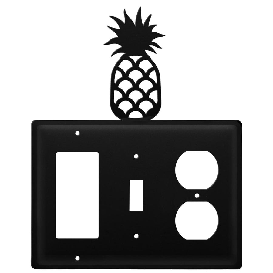 Wrought Iron Pineapple GFCI Switch Outlet Cover light switch covers lightswitch covers outlet cover
