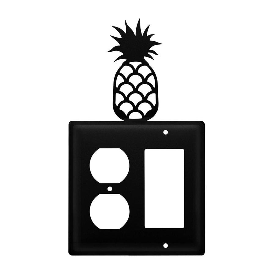 Wrought Iron Pineapple Outlet Cover & GFCI light switch covers lightswitch covers outlet cover