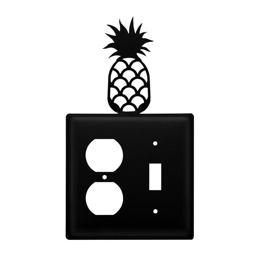 Wrought Iron Pineapple Outlet & Switch Cover light switch covers lightswitch covers outlet cover