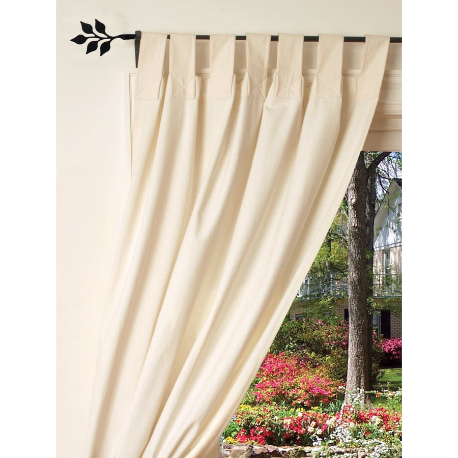 Wrought Iron Plain Curtain Rod curtain poles curtain rails curtain rod dragonfly decor outdoor